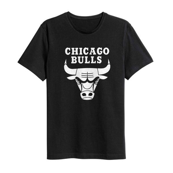 تی شرت نخی ورزشی سام آرت مدل شیکاگو بولز کد 217