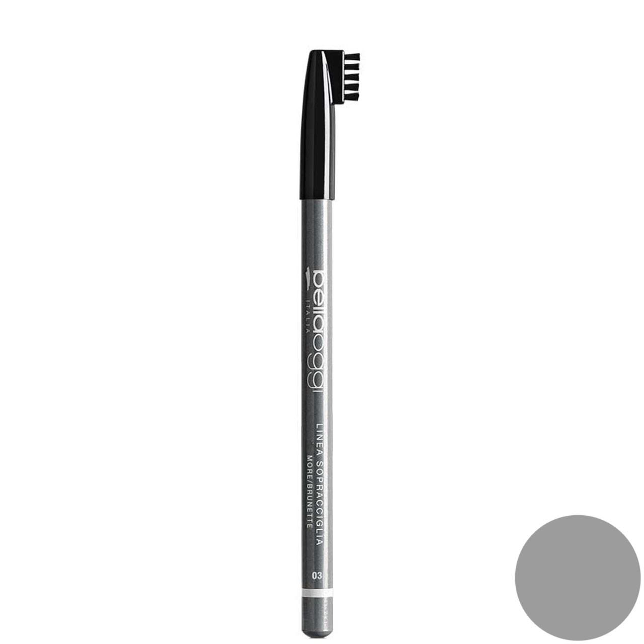 مداد ابرو بلاوجی مدل LINEA SOPRACCIGLIA شماره 03