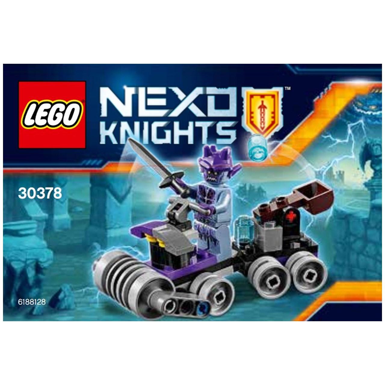 لگو سری Nexo Knights مدل Shrunken Headquarters 30378