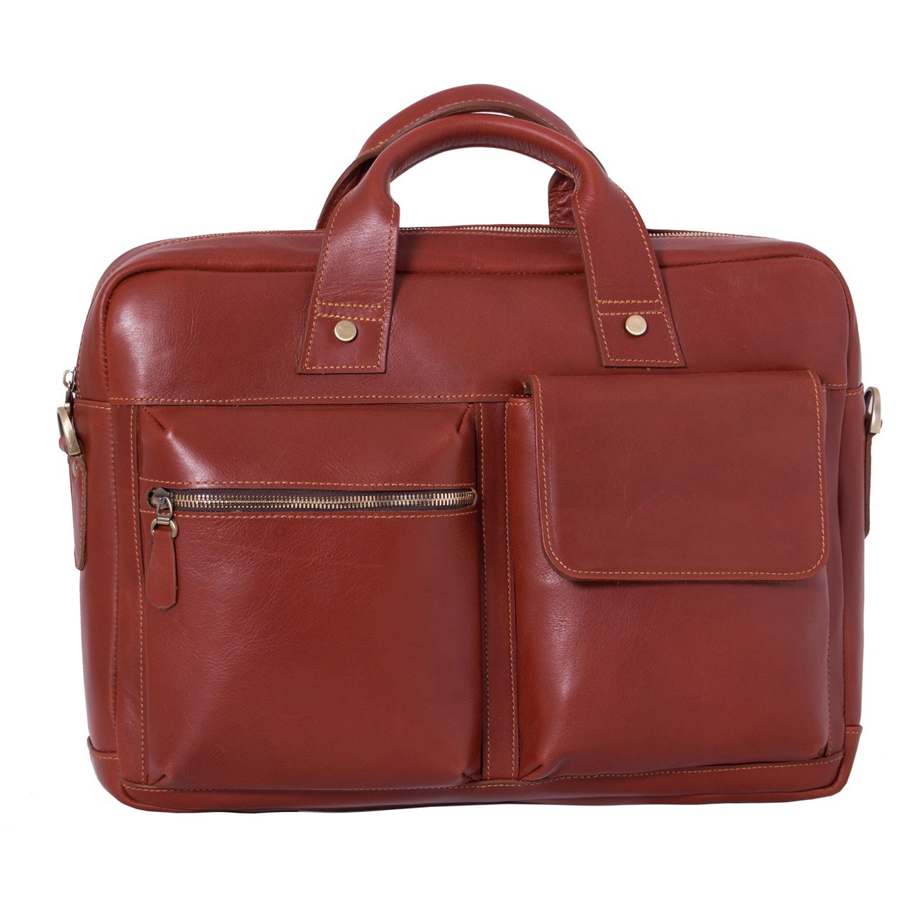 قیمت کیف اداری چرم طبیعی آدین چرم  مدل DL40