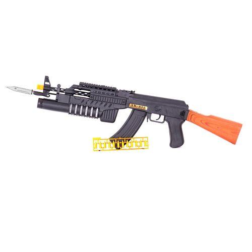 تفنگ اسباب بازی کلاشینکف مدل AK858-1