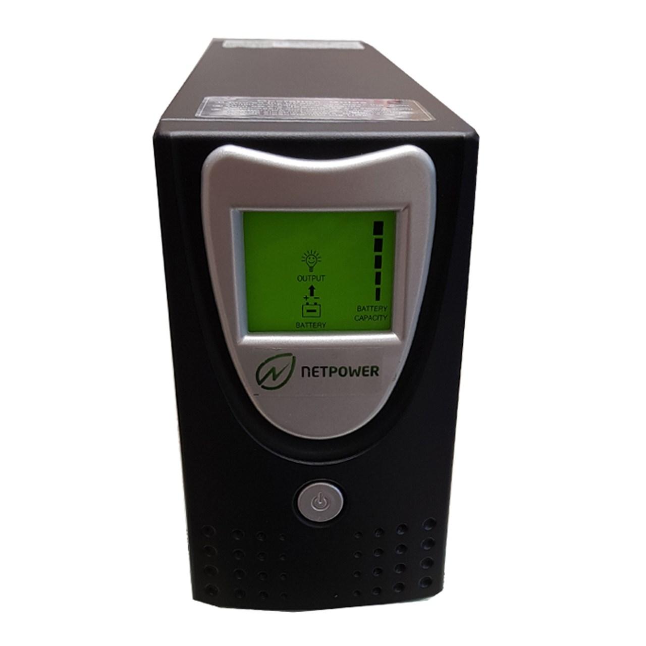 یو پی اس نت پاور  ظرفیت 500VA باطری داخلی و نمایشگر دیجیتال