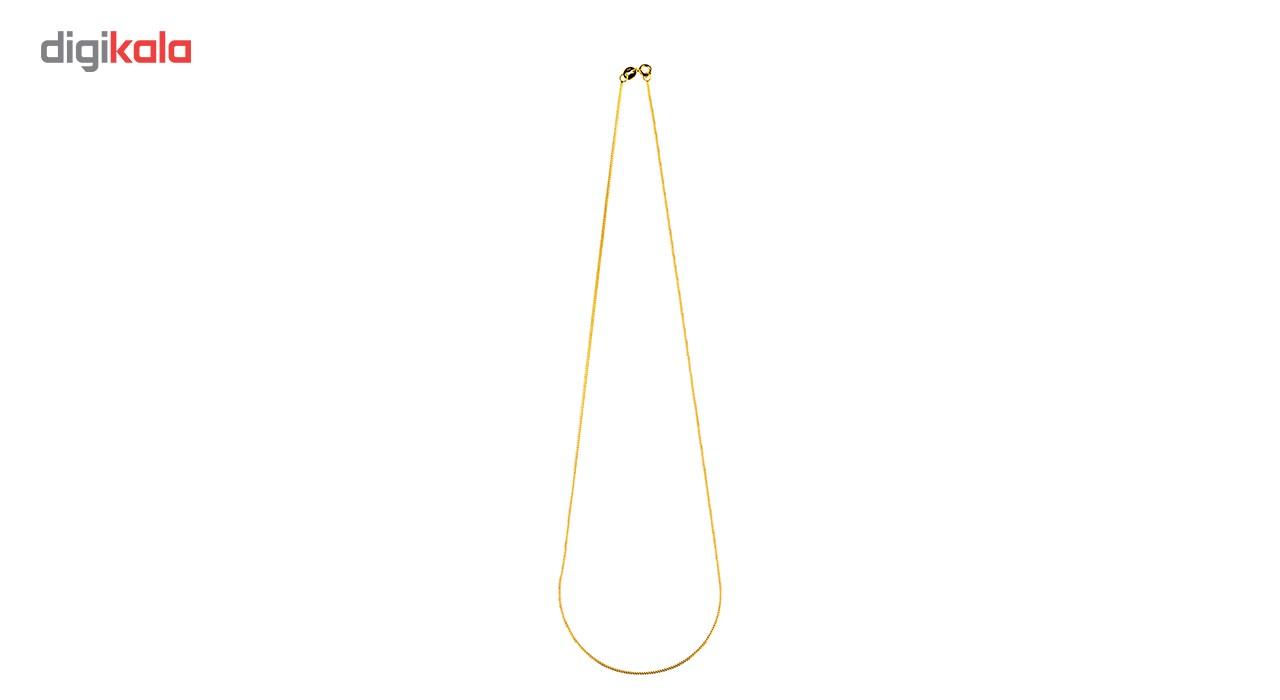 زنجیر طلا 18 عیار گالری طلاچی مدل طرح ایتالیایی بیزمارک