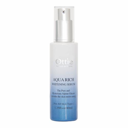سرم سفید کننده و مرطوب کننده اوتی سری Aqua Rich حجم 40 میلی لیتر