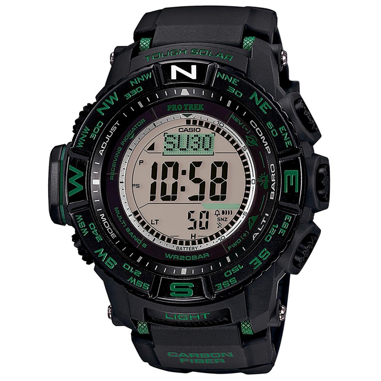ساعت مچی دیجیتالی  مردانه  کاسیو پروترک مدل PRW-S3500-1DR