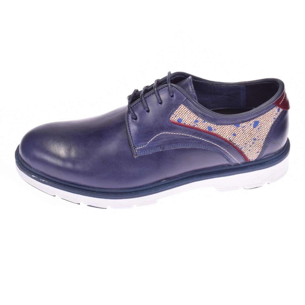 کفش مردانه پانیسا مدل Lace 144DB-Shine