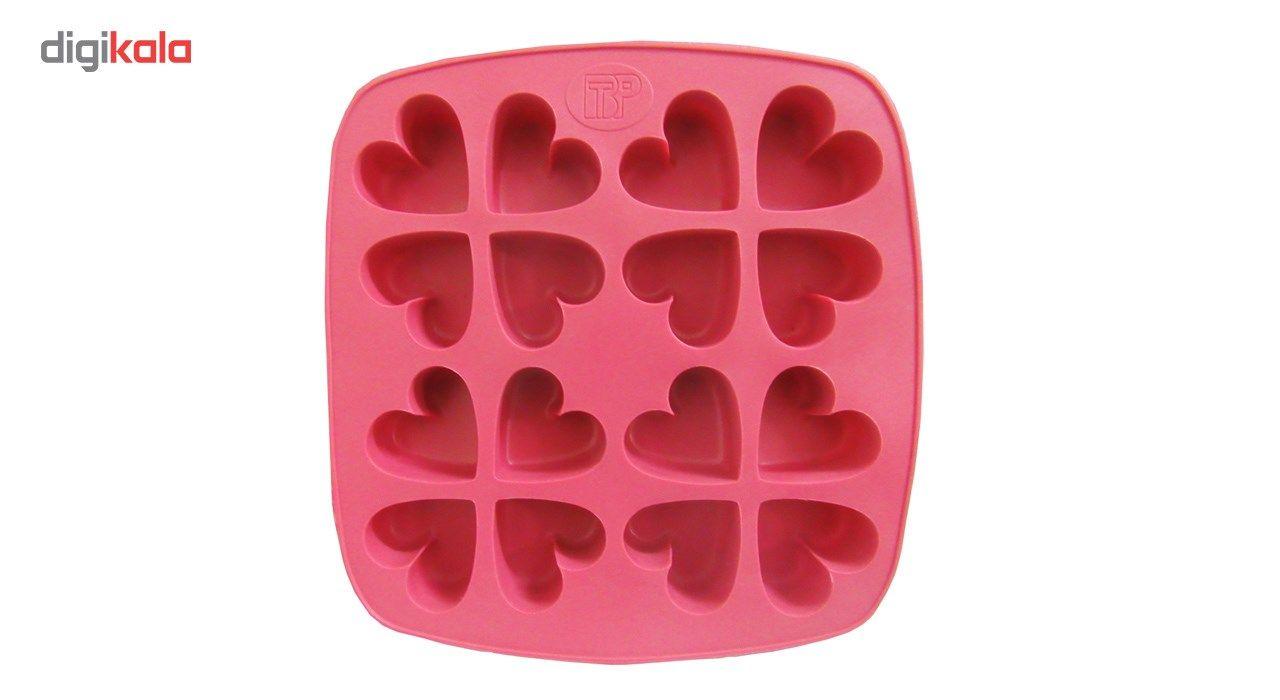 قالب کیک و ژله سیلکونی تاپکو مدل قلب main 1 1