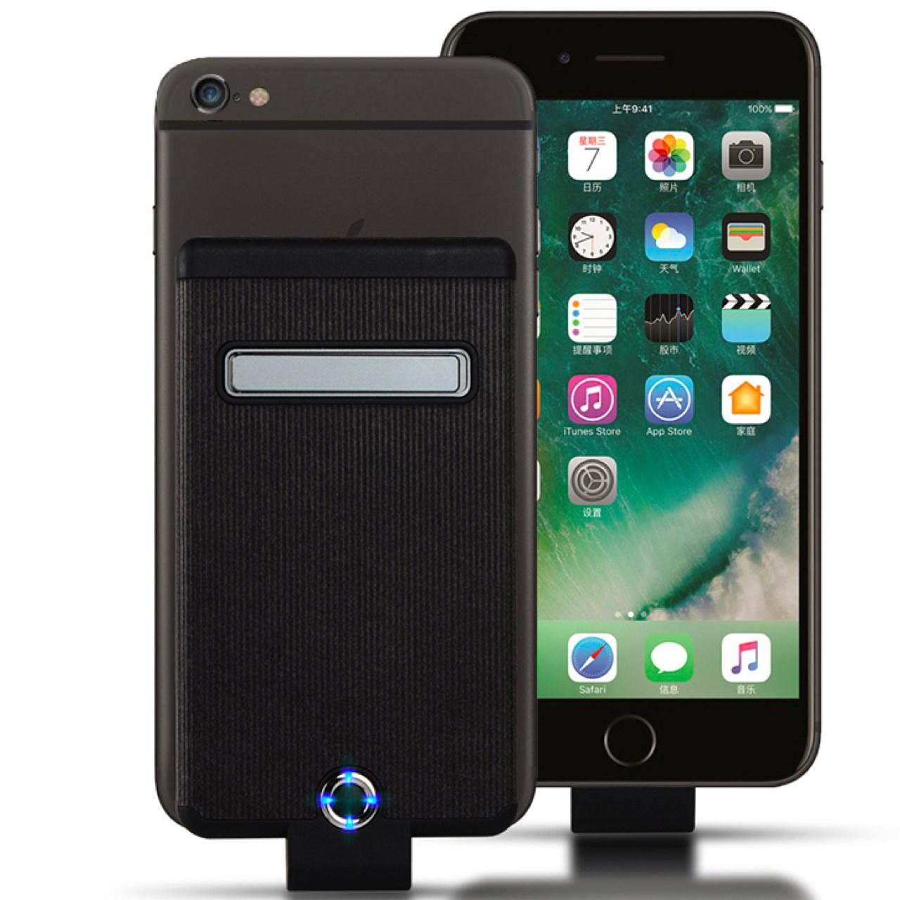 قیمت شارژر همراه ویکآپ ورلد  مدل Back Clip Power ظرفیت 5000 میلی آمپر ساعت مناسب برای iphone 6 Plus