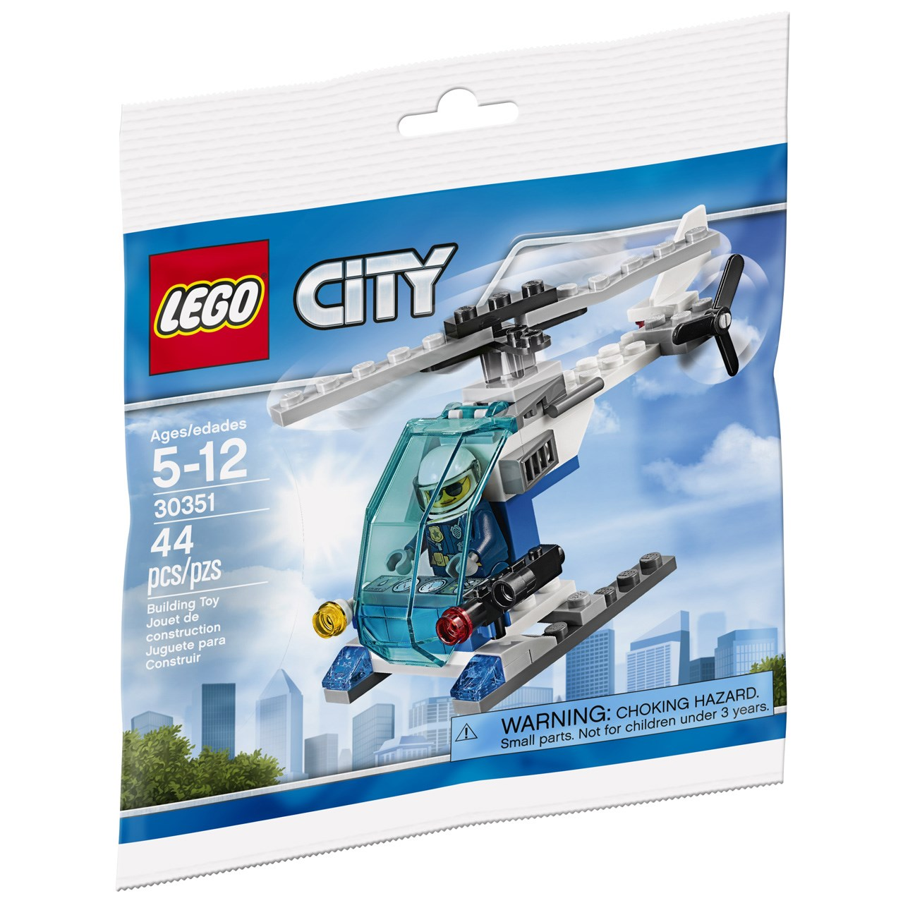 لگو سری City مدل Police Helicopter 30351