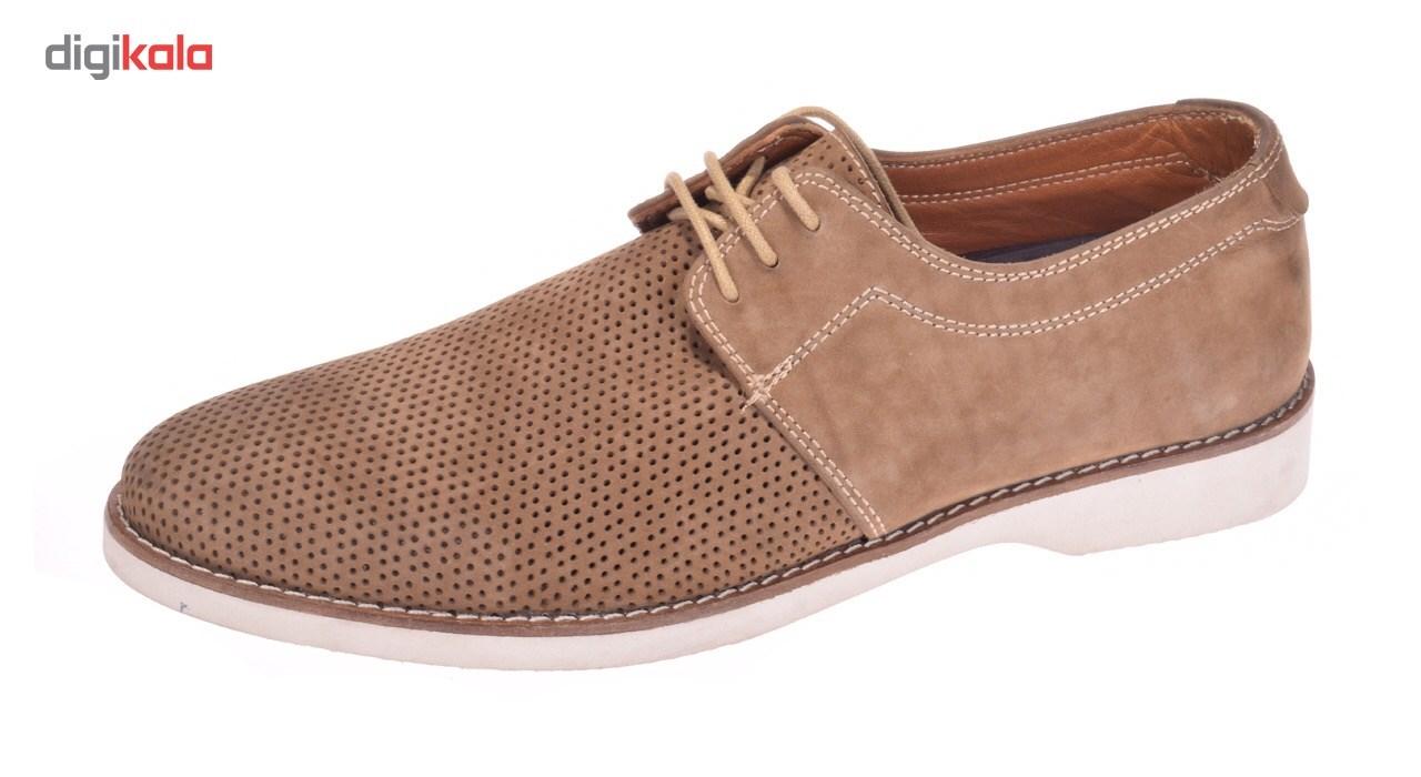 کفش مردانه پانیسا مدل 502Olive