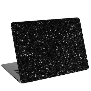 استیکر لپ تاپ طرح Black texture 16کد cl-106مناسب برای لپ تاپ 15.6 اینچ