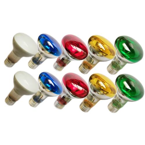 لامپ پشت جیوه ای 60 وات MVC  بسته 10 عددی