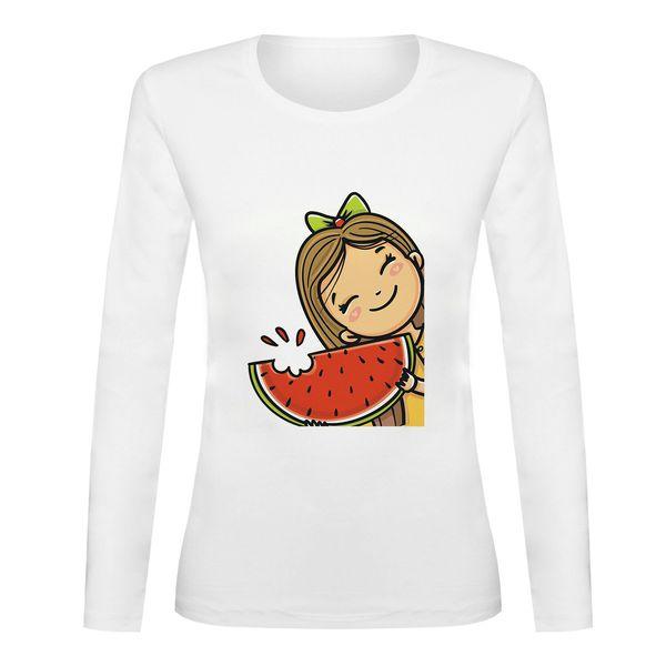 تی شرت آستین بلند زنانه مدل YALDA-SB95