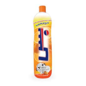مایع ظرفشویی بس راحیه پرتقال حجم 1000 میلی لیتر