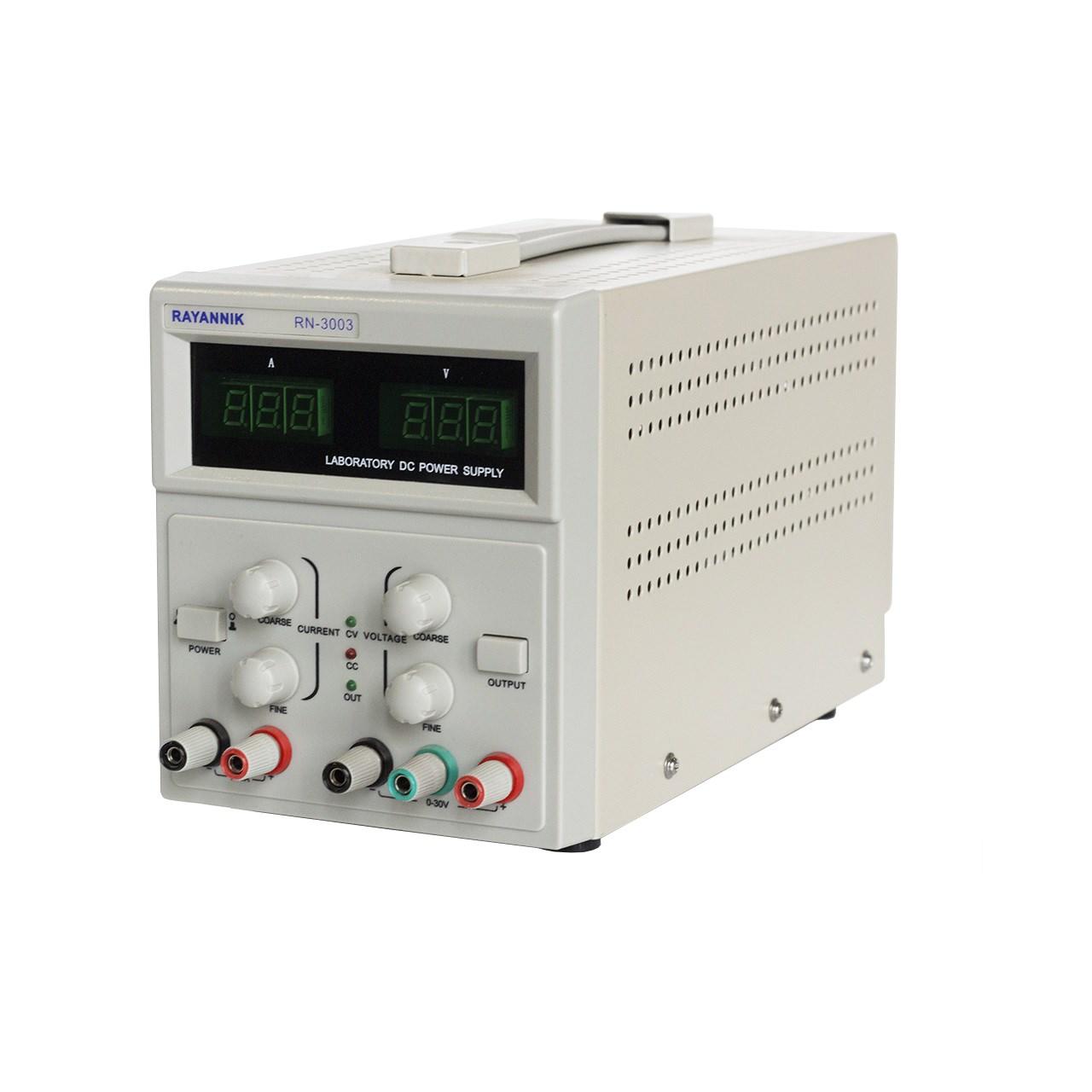 منبع تغذیه 30 ولت 3 آمپر رایان نیک مدل RN-3003
