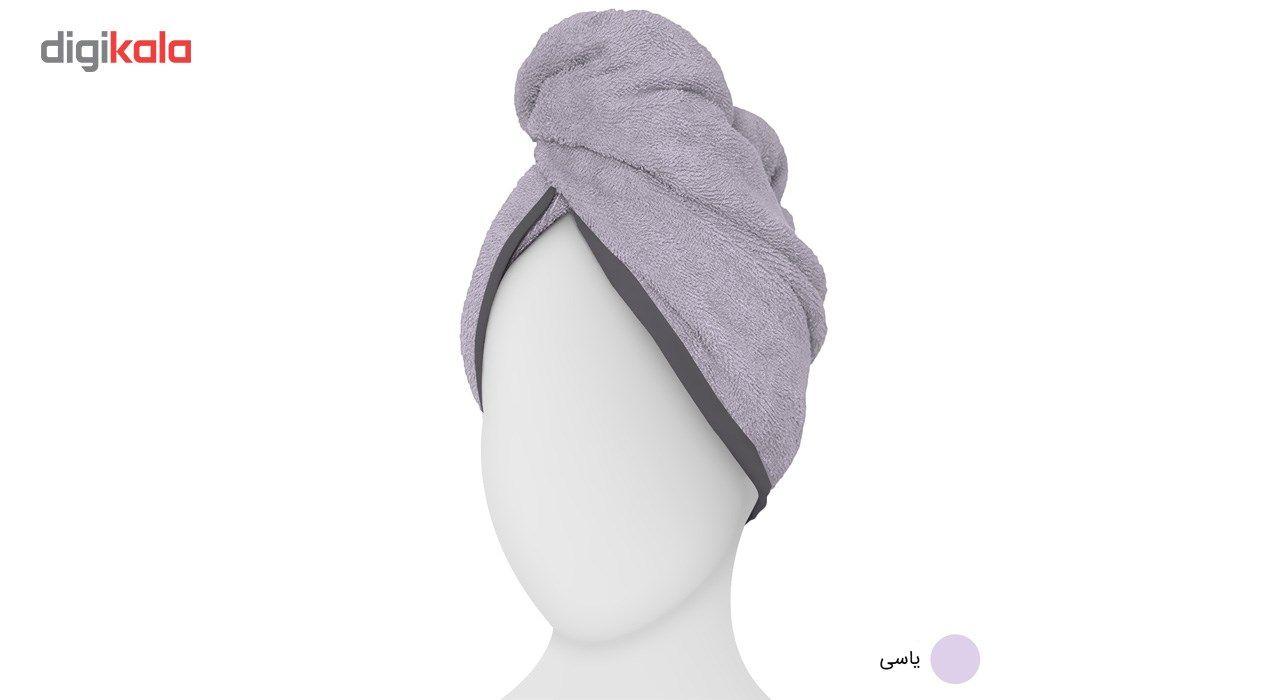 حوله کلاهی دیبا مدل Turban main 1 3