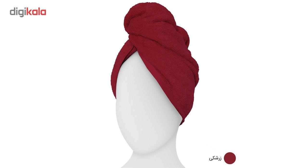 حوله کلاهی دیبا مدل Turban main 1 4