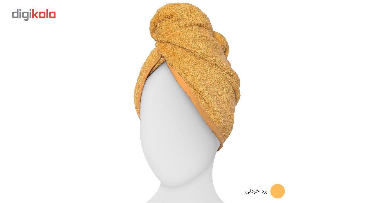 حوله کلاهی دیبا مدل Turban main 1 5