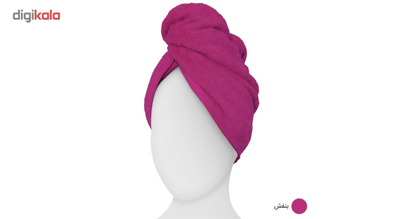 حوله کلاهی دیبا مدل Turban main 1 6