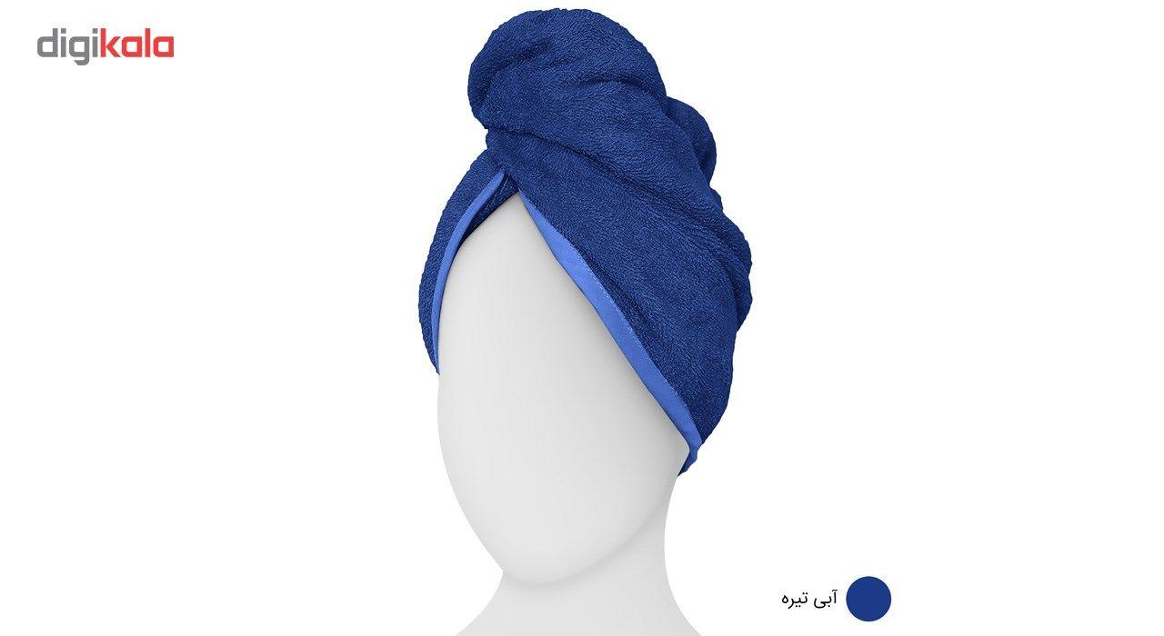حوله کلاهی دیبا مدل Turban main 1 7
