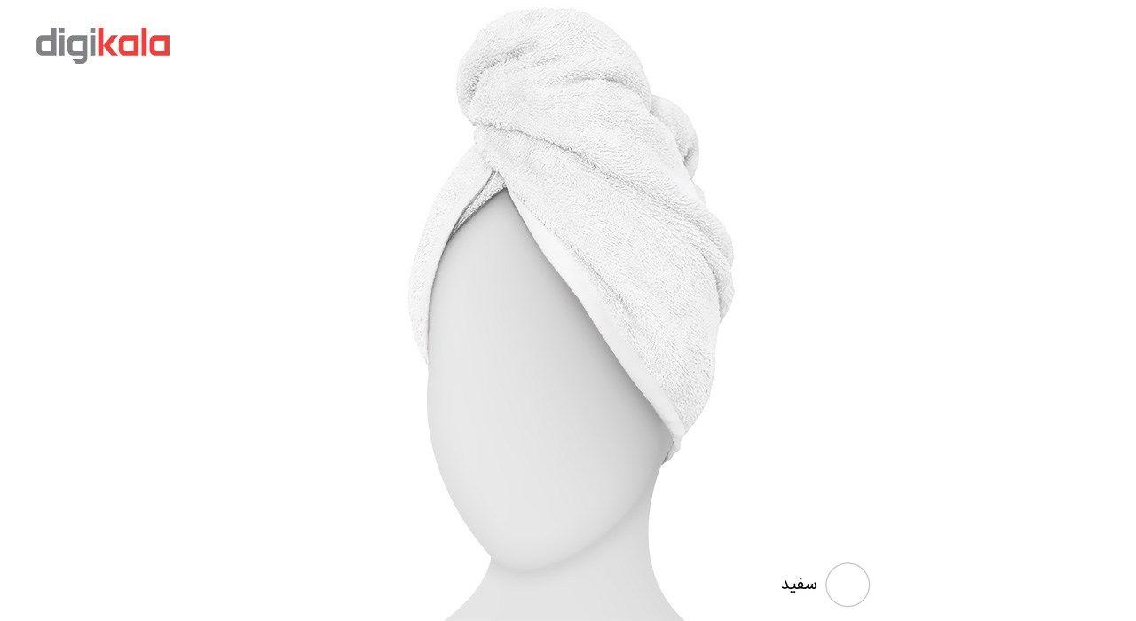 حوله کلاهی دیبا مدل Turban main 1 8