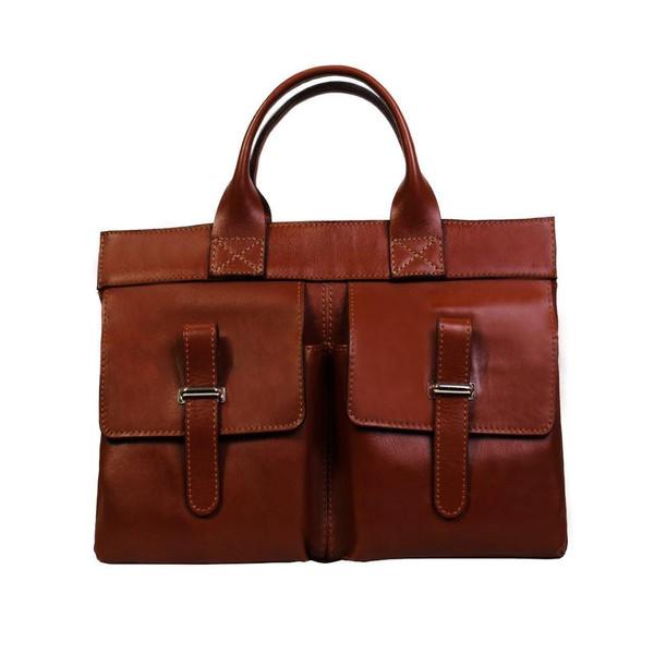 کیف دستی زنانه چرم ناب کد K202