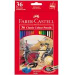مداد رنگی 36 رنگ فابر-کاستل مدل Classic thumb
