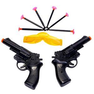 تفنگ اسباب بازی مدل Revolver  بسته 2 عددی