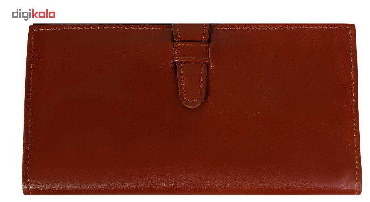 کیف پول چرم طبیعی چرم ناب مدل مدیران کد MK10 main 1 1