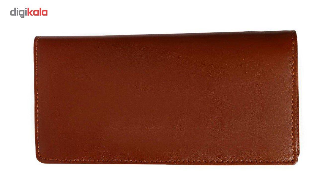 کیف پول چرم طبیعی چرم ناب مدل مدیران کد MK10 main 1 2