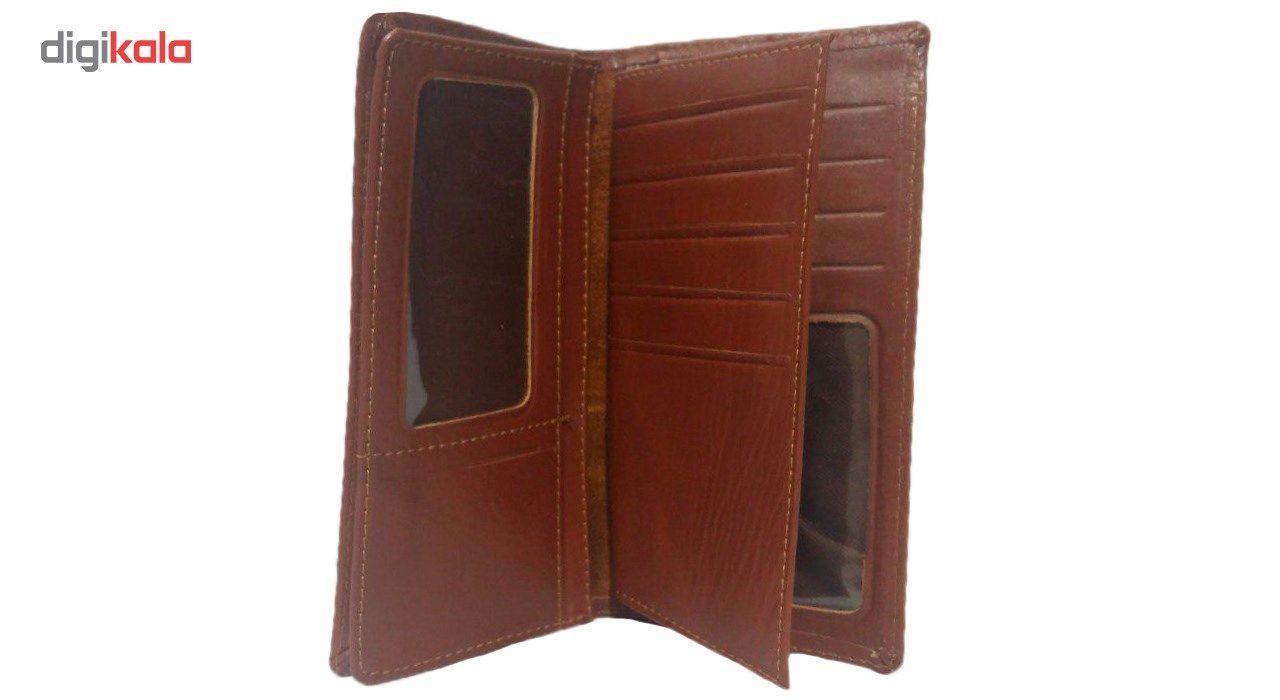 کیف پول چرم طبیعی چرم ناب مدل مدیران کد MK10 main 1 3