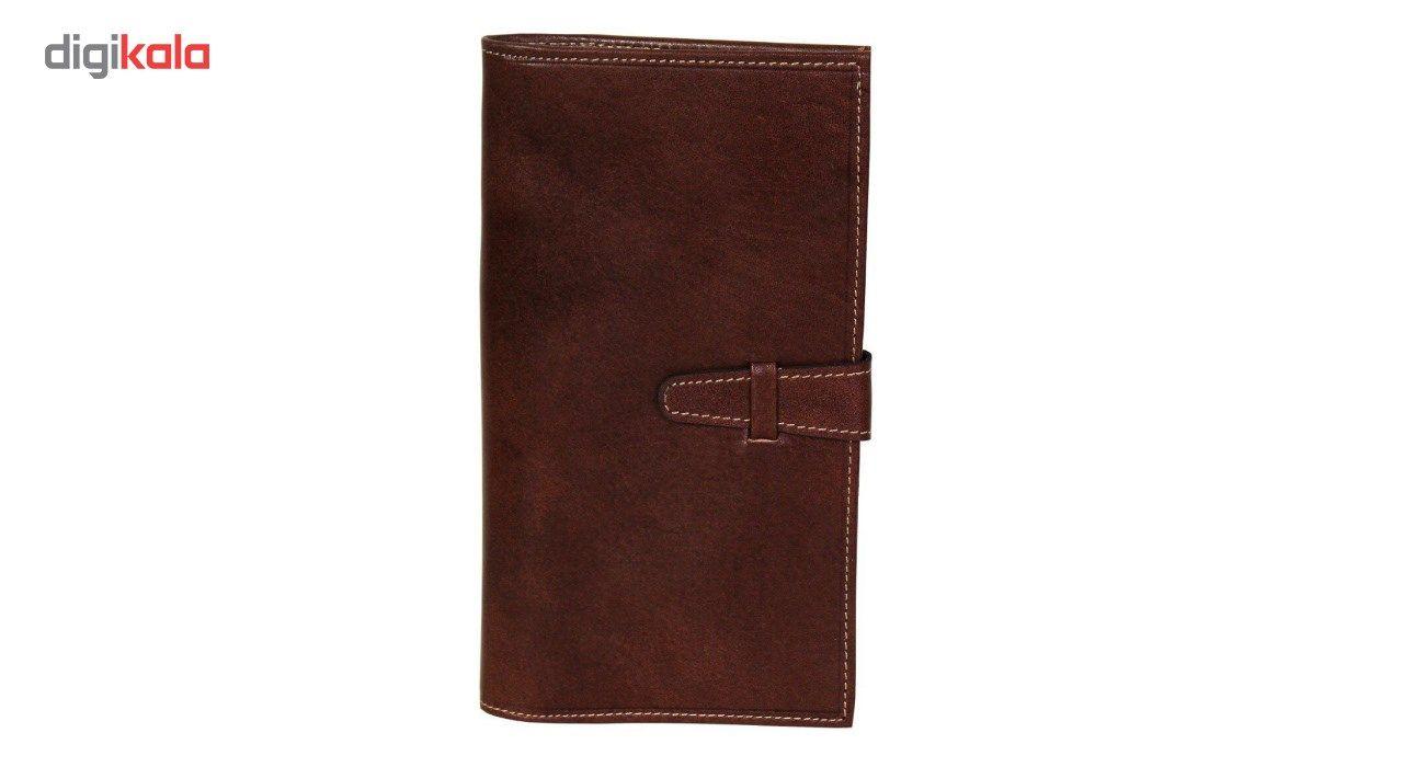 کیف پول چرم طبیعی چرم ناب مدل مدیران کد MK10 main 1 5