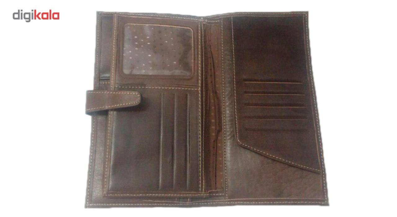 کیف پول چرم طبیعی چرم ناب مدل مدیران کد MK10 main 1 7