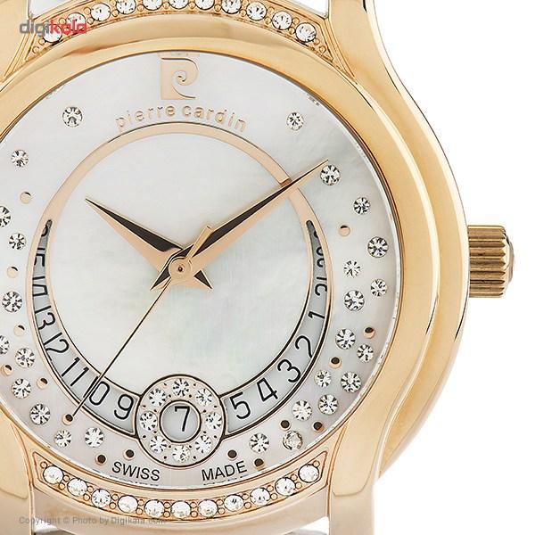 ساعت مچی عقربه ای زنانه پیر کاردین مدل PC107012S03