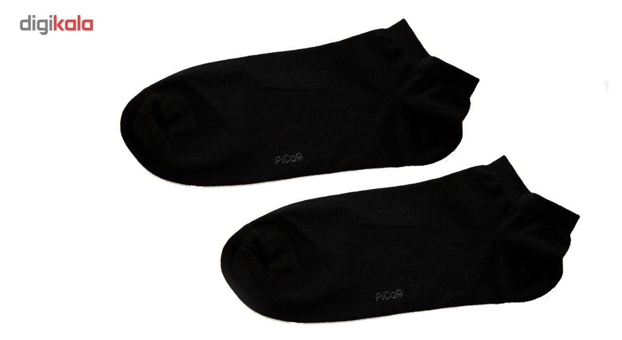 جوراب مردانه مدل پیکور کالج charchoob 001-2 main 1 2