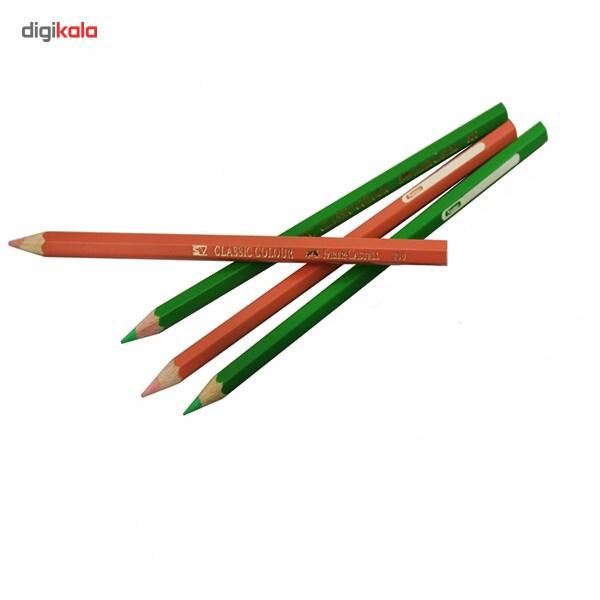 مداد رنگی 36 رنگ فابر-کاستل مدل Classic