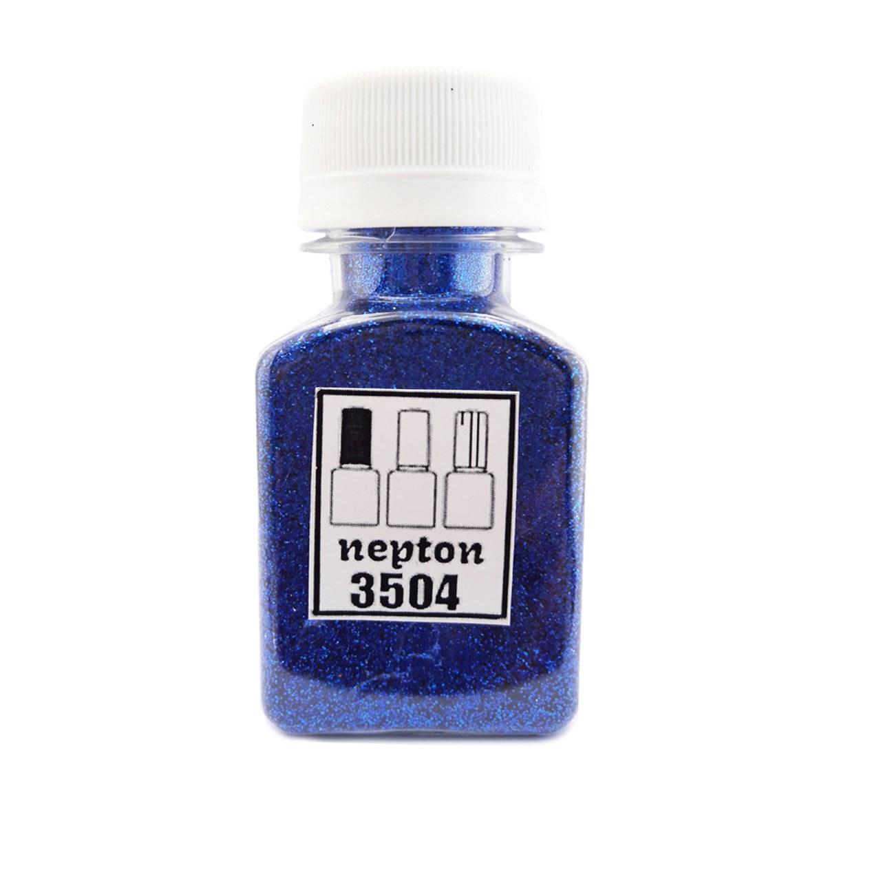 اکلیل ناخن نپتون مدل آبی