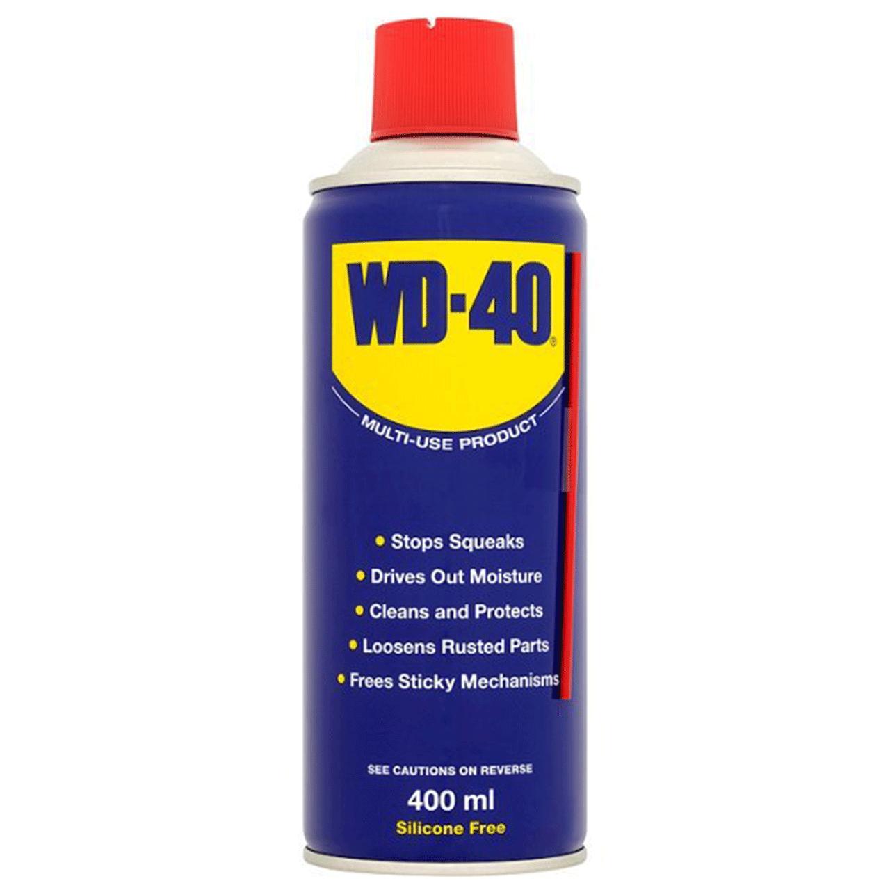 اسپری روان کننده WD-40 حجم 400 میلی لیتر