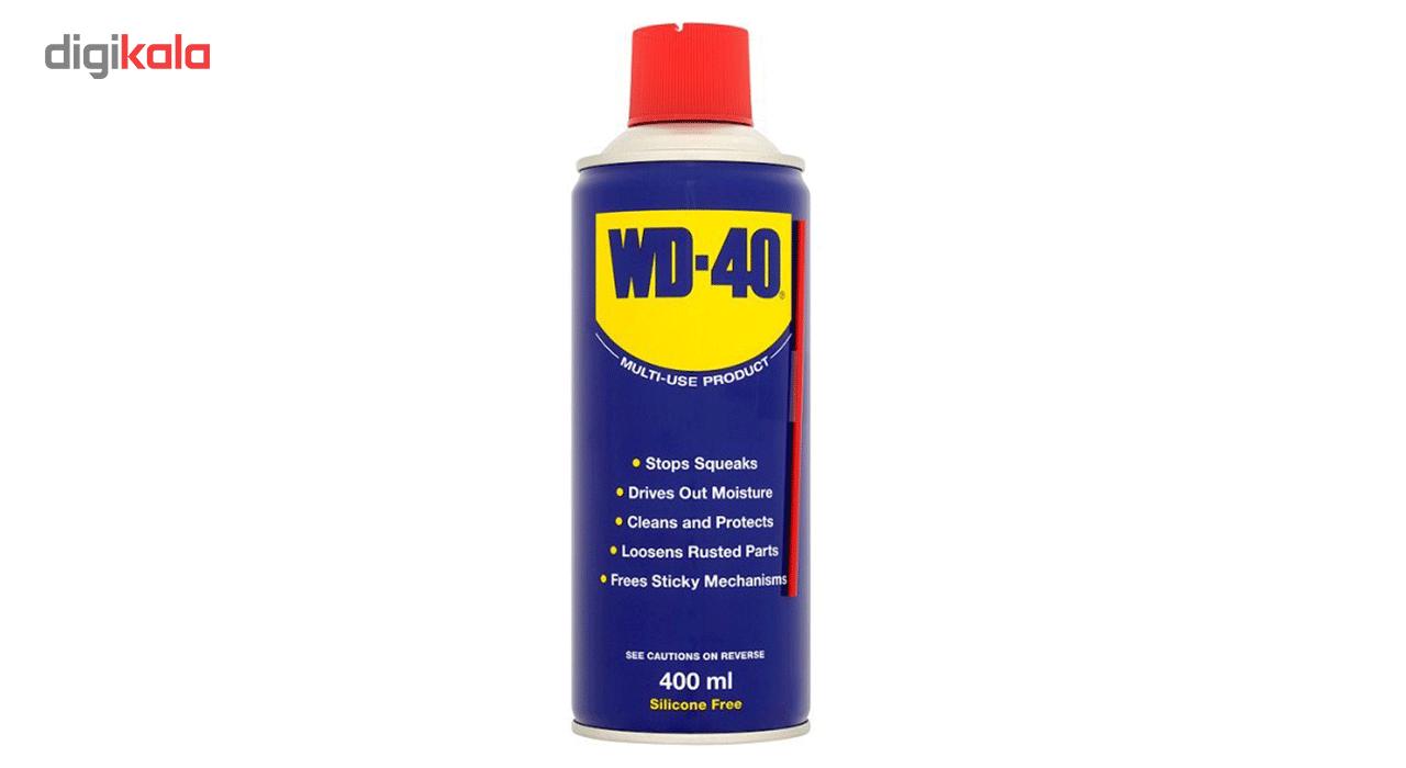 اسپری روان کننده WD-40 حجم 400 میلی لیتر main 1 1