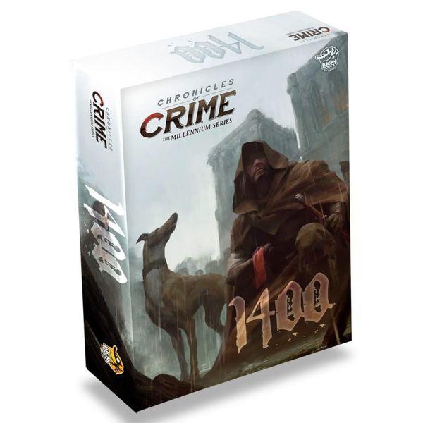 بازی فکری لاکی داک گیمز مدل Chronicles of Crime: 1400