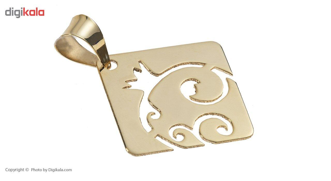 نیم ست طلا 18 عیار ماهک مدل MS0058 - مایا ماهک main 1 3