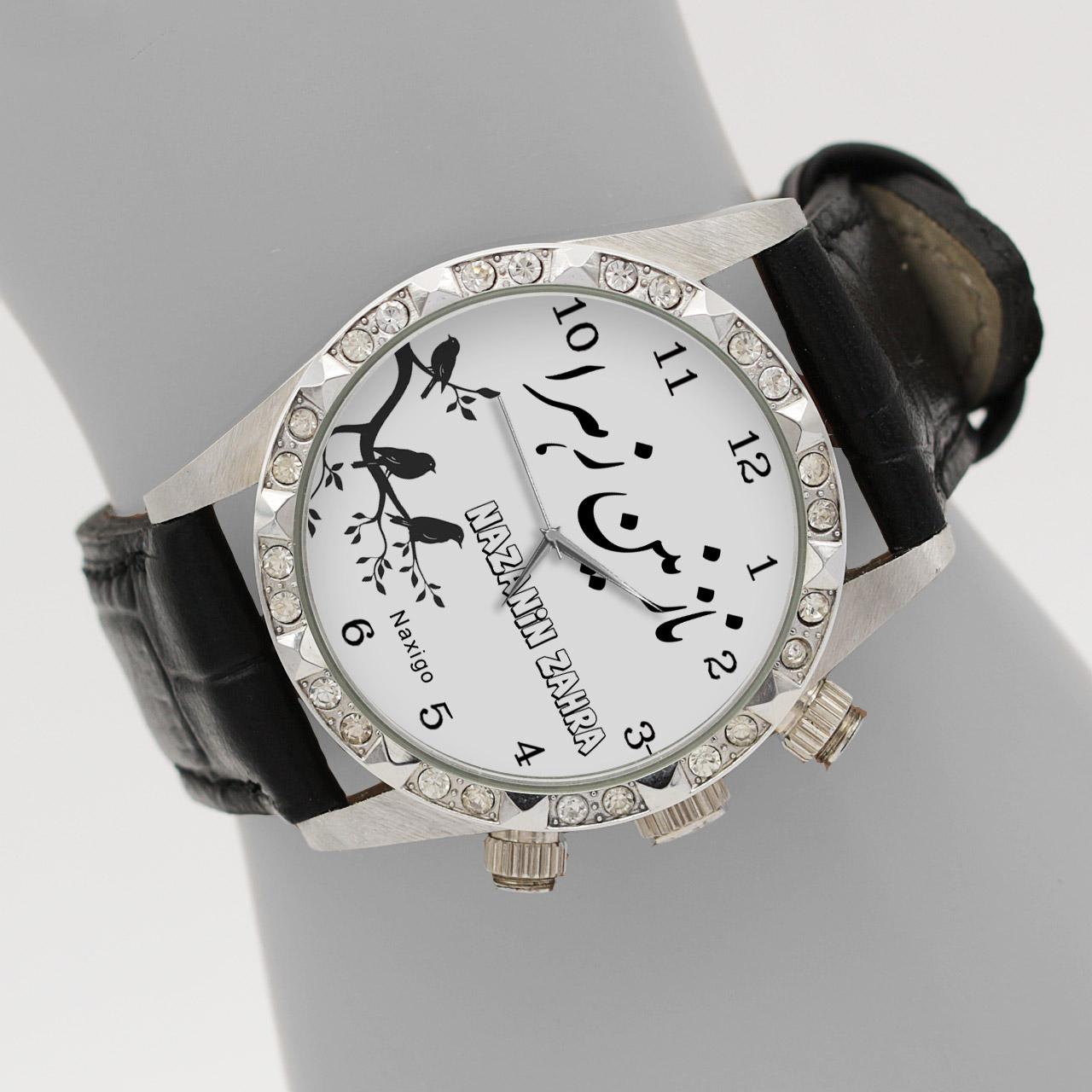 خرید و قیمت                      ساعت مچی  زنانه ناکسیگو طرح نازنین زهرا کد LS3773