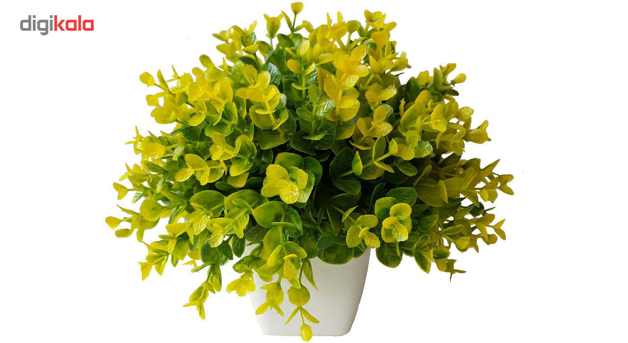 گلدان به همراه گل مصنوعی بخشی مدل SH313 main 1 14