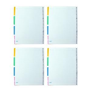 کاغذ کلاسوری کد D6 بسته 4 عددی