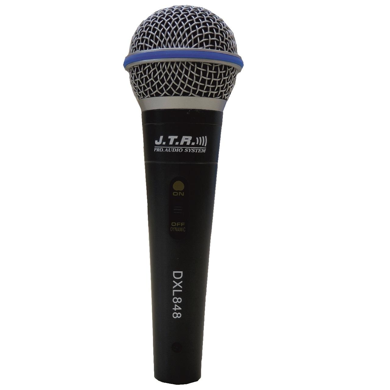 خرید                     میکروفن باسیم جی.تی.آر مدل DXL-848