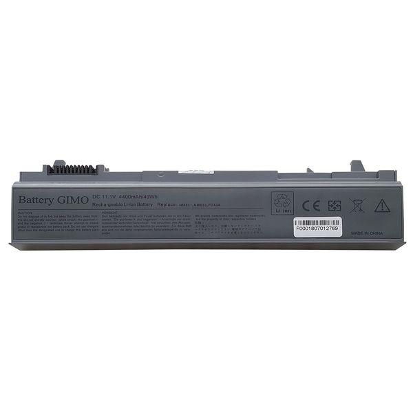 باتری لپ تاپ 6 سلولی جیمو برای لپ تاپ دل Latitude E6400