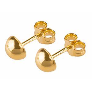 گوشواره طلا 18 عیار گالری طلاچی میخی 6