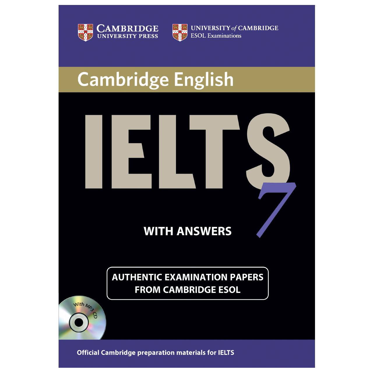 خرید                      کتاب زبان IELTS Cambridge 7 اثر جمعی از نویسندگان