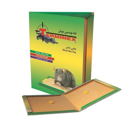 تله موش چسبی نبرد مدل کتابی مجموعه ی 2 عددی