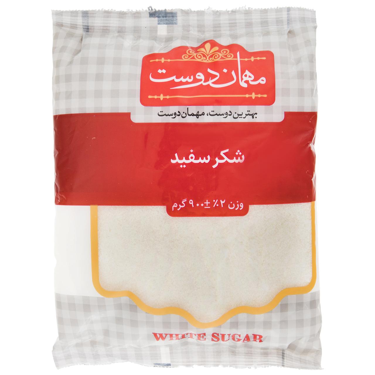 شکر سفید مهمان دوست مقدار 900 گرم